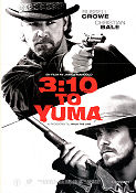3:10 till Yuma 2007 poster Russell Crowe James Mangold