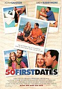 50 First Dates 2004 poster Adam Sandler Peter Segal