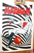 Limited litho MADMAN No 96 of 170 2014 affisch
