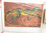 Limited litho CRYLOPHOSAURUS Signed No 390 of 500 1996 affisch