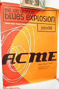 JSBX98 Jon Spencer Blues Explosion ACME CD 1998 affisch Jon Spencer