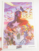 Captain America Signed 2014 affisch