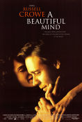 A Beautiful Mind 2001 poster Russell Crowe Ron Howard