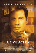 A Civil Action 1998 poster John Travolta