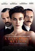 A Dangerous Method 2011 poster Keira Knightley David Cronenberg