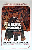 A Fistful of Dollars 1966 poster Clint Eastwood Sergio Leone