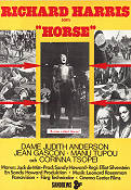 A Man Called Horse 1970 Filmaffisch Richard Harris
