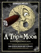 A Trip To the Moon 1902 Filmaffisch Georges Mélies