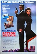 Action Jackson 1988 poster Carl Weathers