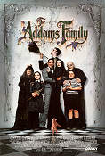 The Addams Family 1991 poster Anjelica Huston Barry Sonnenfeld