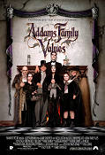 Addams Family Values 1993 poster Anjelica Huston