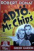 Adjö Mr Chips 1939 poster Robert Donat