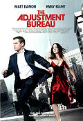 The Adjustment Bureau 2011 poster Matt Damon George Nolfi
