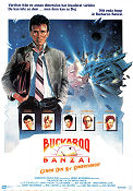 The Adventures of Buckaroo Banzai Poster 70x100cm RO original