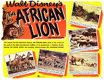 The African Lion 1955 poster James Algar