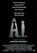A.I. Artificial Intelligence 2001 poster Haley Joel Osment Steven Spielberg