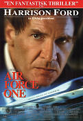 Air Force One 1997 poster Harrison Ford