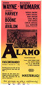 The Alamo 1960 poster John Wayne