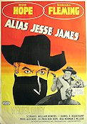 Alias Jesse James 1959 poster Bob Hope
