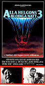 Alla helgons blodiga natt 3 1982 poster Tom Atkins Tommy Lee Wallace
