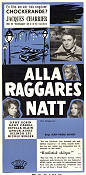 Alla raggares natt 1959 poster Jacques Charrier
