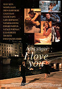 Alla säger I Love You 1996 poster Drew Barrymore Woody Allen