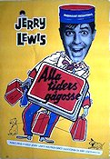 Alla tiders gågosse 1960 poster Jerry Lewis