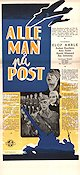 Alle man p� post Poster 30x70cm NM original
