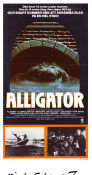 Alligator 1980 poster Robert Forster