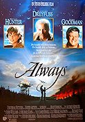 Always 1989 poster Holly Hunter Steven Spielberg