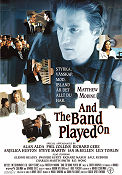 And the Band Played On 1993 Filmaffisch Alan Alda