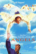 Angels in the Outfield 1994 poster Danny Glover William Dear