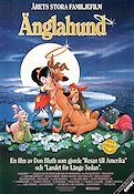 Änglahund 1989 poster Don Bluth