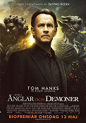 Änglar och demoner 2009 poster Tom Hanks Ron Howard