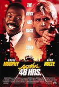 Another 48 Hours 1990 poster Eddie Murphy