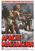 Apachemassakern 1976 poster Harry Dean Stanton William Graham