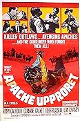 Apacheupproret 1966 poster Lon Chaney