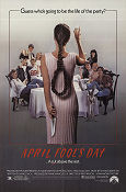 April Fool´s Day 1986 poster Deborah Foreman Fred Walton