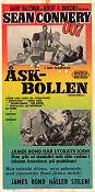 Åskbollen 1966 poster Sean Connery Terence Young