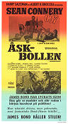 Åskbollen 1965 poster Sean Connery Terence Young