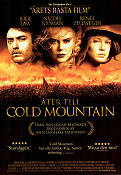 Åter till Cold Mountain 2002 poster Jude Law
