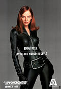 The Avengers 1998 poster Uma Thurman