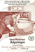 Avlyssningen 1974 poster Gene Hackman Francis Ford Coppola