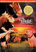 Babe 1995 poster Christine Cavanaugh Chris Noonan