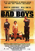 Bad Boys 1995 poster Will Smith Michael Bay