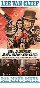 Bad Man's River 1972 poster Lee Van Cleef