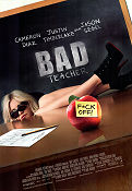 Bad Teacher 2011 poster Cameron Diaz