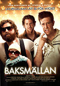 Baksmällan 2009 poster Zach Galifianakis Todd Phillips
