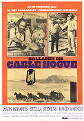 Balladen om Cable Hogue 1970 poster Sam Peckinpah