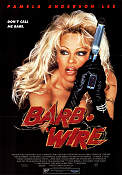 Barb Wire 1996 poster Pamela Anderson Lee David Hogan